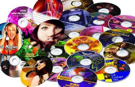 impressão de cd